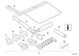 Car tool service kit