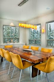 Colorful Dining Room Tables Simple Decorating