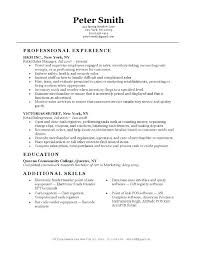Resume Objectives Retail Resume Examples For Retail Retail Sales