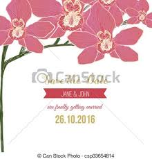 Red Save The Date Cards Wedding Save The Date Card With Red Orchid Flowers Can Be Used For Wedding Baby Shower Mothers Day Valentines Day Birthday Cards Invitations