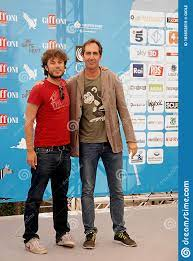 Sydney Sibilia And Paolo Calabresi At Giffoni Film Festival 2014 .  Editorial Stock Image - Image of july, giffonivallepiana: 183552819