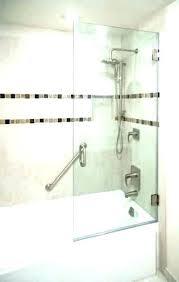 half shower door glass bathtubs for bathtub handle loose bath seal 8mm