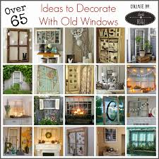 Ideas For Old Windows Little Brags Decorating With Old Doors