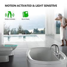 Sensor Toilet Bowl Lamp Toilet Seat Led Night Light Motion 8 Colors Smart Auto Activated Cuvette Wc Bathroom Accessories 1pc
