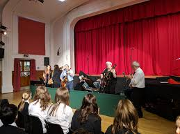 """Rowena Blair on Twitter: """"Staff band followed by S6/staff panto! Love  Christmastime at school 😀 #nbhs… """""""