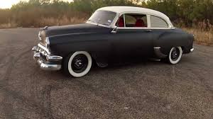 54 chevy Belair Rat Rod - YouTube