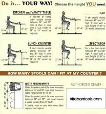Table Chair Height Chart Stools Measuring Chart In 2019 Dining Table Height