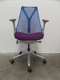 sayl office chair. Modren Sayl Herman Miller Blue And Purple Sayl Office Chair Throughout L