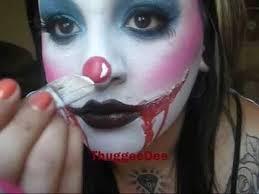 cute clown make up tutorial