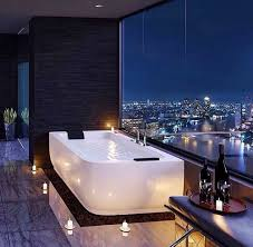 fancy bathrooms. bathroom goals: vino candles bath view bubbles by gohairshop fancy bathrooms