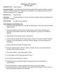 director job description 242 job description ms athletic director school district of omro