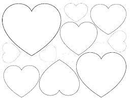 Heart Printable Coloring Pages Kontaktimproorg