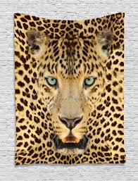 wall hangings leopard tapestry african