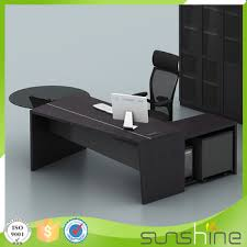 industrial style office desk. KB-MED03 MDF Wholesale Office Furniture Industrial Style Desk Curved Working Table Price