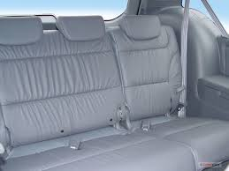 2007 honda odyssey rear seat