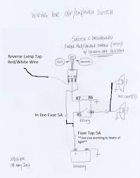 wiring reverse lights 2nd gen how to tacoma world alternator warning light wiring diagram at Gen Light Wiring