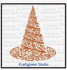 Holiday ribbon vectors ai file. Halloween Svg Christmas Tree Png Image Transparent Png Free Download On Seekpng