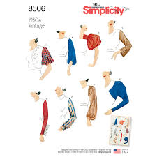 Sleeves Pattern Cool Simplicity Simplicity Pattern 48 Misses' Vintage Set Of Sleeves