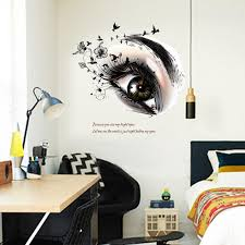 Small Picture New Removable Creative Eye Design Wall Stickers For Home