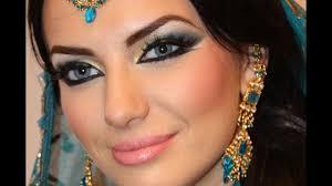 exotic arabic makeup princess jasmine make up transformation ماكياج العربي