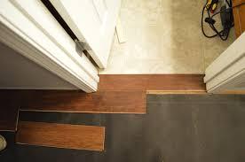 flooring bathroom doorway 4