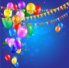 Happy Birthday Background Images Colored Confetti With Happy Birthday Background Vector Free Vector