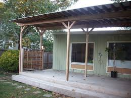 corrugated metal deck cover deck masters llc porch tin roof gazebo