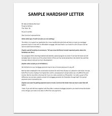 Moving Home Letter Template Hardship Letter For Loan Modification