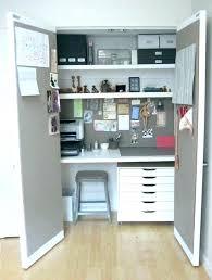 office in closet ideas. Simple Office Closet Desk Ideas Office To  Home Intended Office In Closet Ideas A