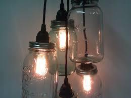 Diy Pendant Lighting Astonishing Diy Projects With Wine Bottles Jar Cluster Pendant