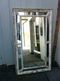 wall mirrors distressed mirror large early century french original painted aged tiles antique bl