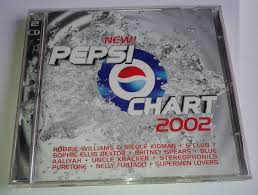 Pepsi Chart 2002 2 Cds Williams Kidman S Club 7 Spears Blue 299 99