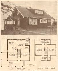 1915 bungalow hewitt lea funck company plan no 6 1050