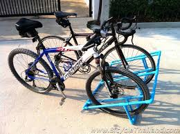 bike storage ideas awesome racks how to make a rack diy stand pvc work