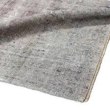 Overdyed Area Rugs Vintage Rug Antique Grey Blue