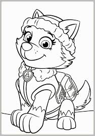 Paw Patrol Christmas Coloring Pages Inspirational Paw Patrol Everest