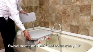77762 - Tub-Mount Swivel Sliding Bath Transfer Bench by Eagle ...