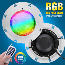 Multi Color Pool Light Us 43 2 55 Off 450led Rgb Underwater Swimming Pool Light Multi Color 12 24v 45w Remote Controller Outdoor Lighting Waterproof Underwater Lamp In Led