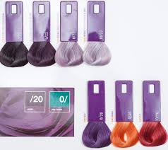 Lakme Collage Hair Color Chart