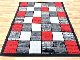 area rugs with red accents black grey and red area rugs red gray patchwork area rug black white gray accents large living room rug black white and red area