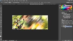 How To Make A Forum Signature Photoshop Cs6 Cc Youtube
