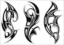 Vektor Maori Stylem Vzor Tetování Na Rameno 72317013 Fotobanka