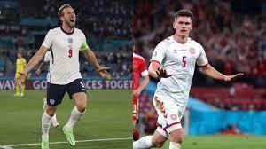 UEFA Euro 2020 England vs. Denmark bold ...