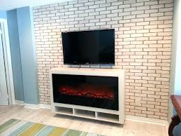 brick electric fireplace brick electric fireplace mill walk floating fireplace cabinet brick around electric fireplace brick