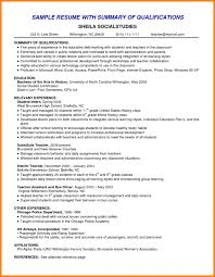 Qualification Sample For Resume Qualification Resume Professional Summary Example How To