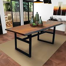 eden live edge dining table