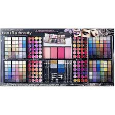the color work incredible beauty color makeup kit 256 pc