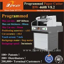 <b>Boway</b> Accessories 460mm 490mm Book Edge PLC Paper Cutter ...