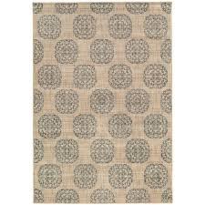 home decorators collection es medallion slate 5 ft x 8 ft area rug