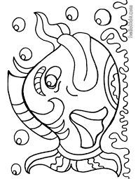 Big Fish Coloring Page Find Free